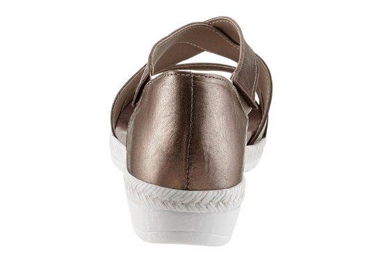Aco Sandalette mit Gummizug