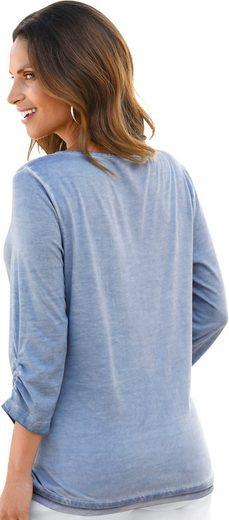 Classic Inspirationen Shirt mit Seitenschlitzen