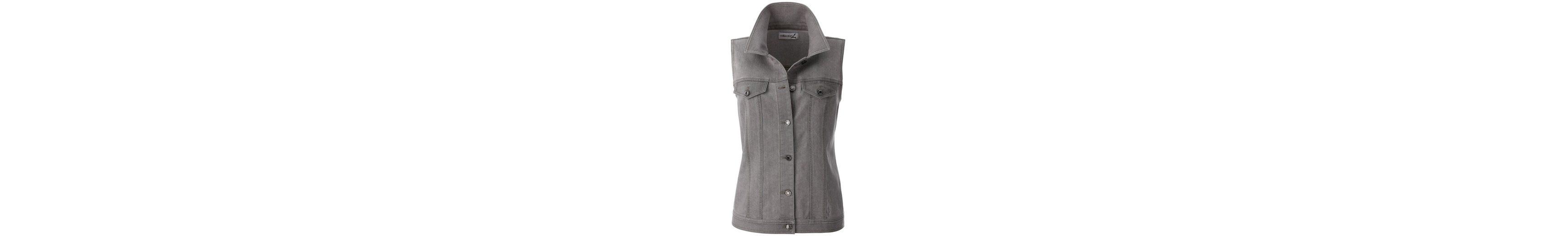Collection L Jeans-Weste mit längerem Schnitt 2018 Günstig Online Verkauf Wahl Billig Verkauf Kosten Mode Online-Verkauf Finden Große Zum Verkauf hTpfD