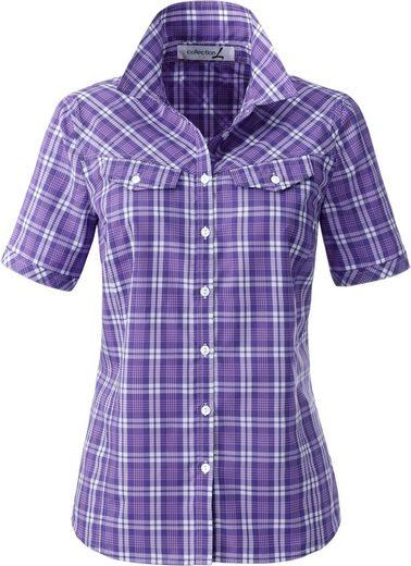 Collection L. Bluse mit Hemdkragen