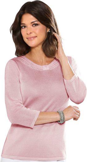 Classic Pullover mit 3/4-Ärmeln