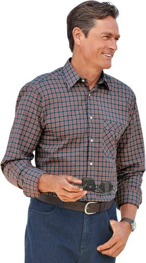 Classic Karo-shirt Made Of Pure Cotton