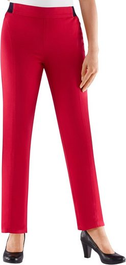 Basics Classic Trousers With Elasticated Dehnbund