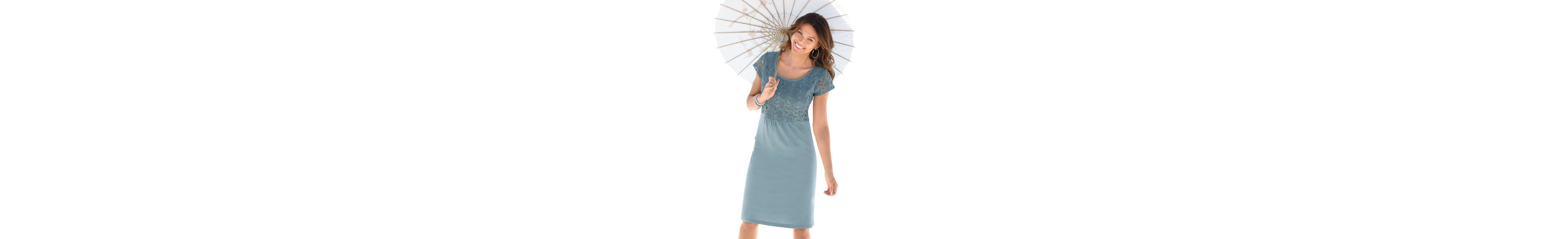 Ambria Kleid mit ausgestelltem Rock Hohe Qualität Günstiger Preis knyBytdR7c