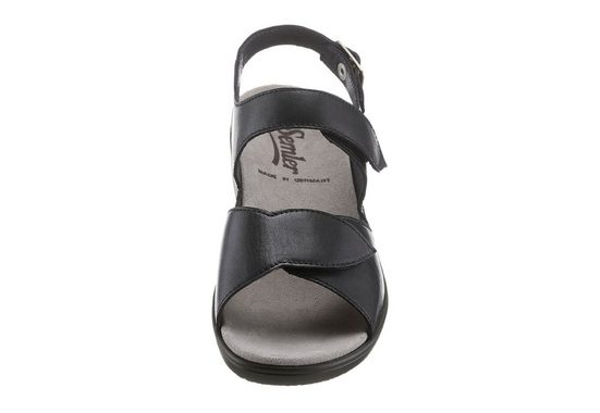 Semler Sandale mit klettfixiertem Wechselfußbett