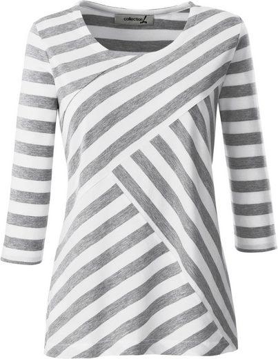 Collection L. Shirt mit 3/4-Ärmeln