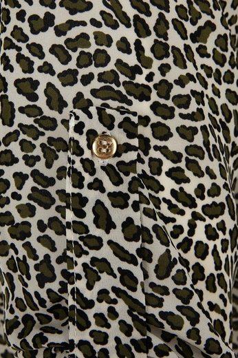 Blouse Longue Belloya, Avec Imprimé Animal