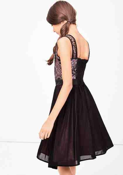 s.Oliver RED LABEL Junior Festliches Kleid mit Pailletten für Mädchen