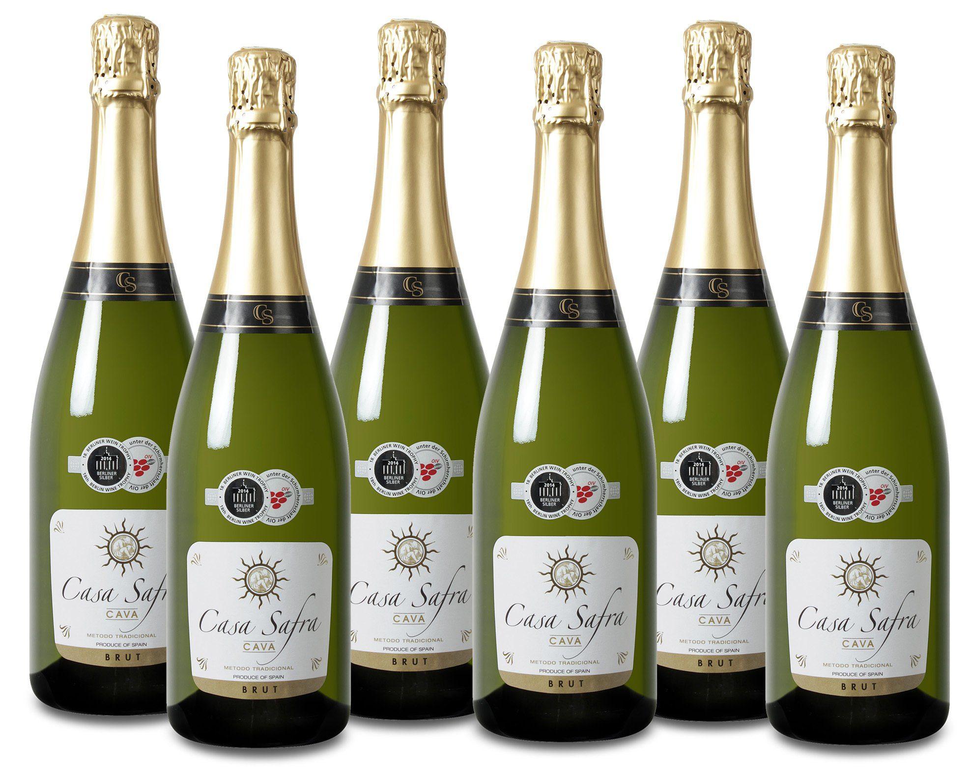 Schaumwein aus Spanien, 11,5 Vol.-%, 4,5 l »NV Casa Safra«