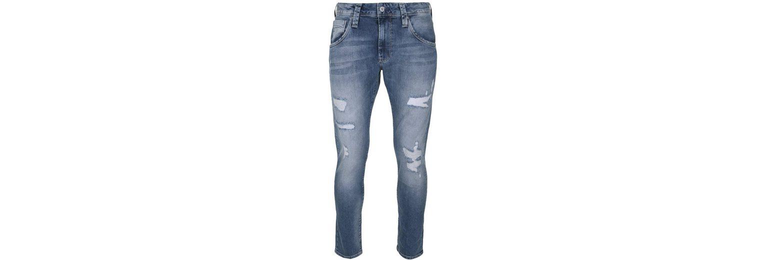 Pepe Jeans 5-Pocket-Jeans ZINC, Stickerei