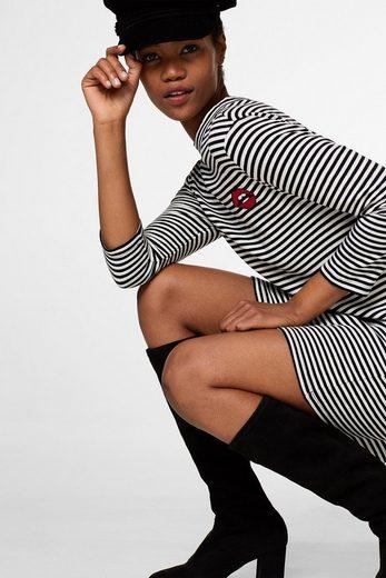 EDC BY ESPRIT Jerseykleid aus 100% Baumwolle