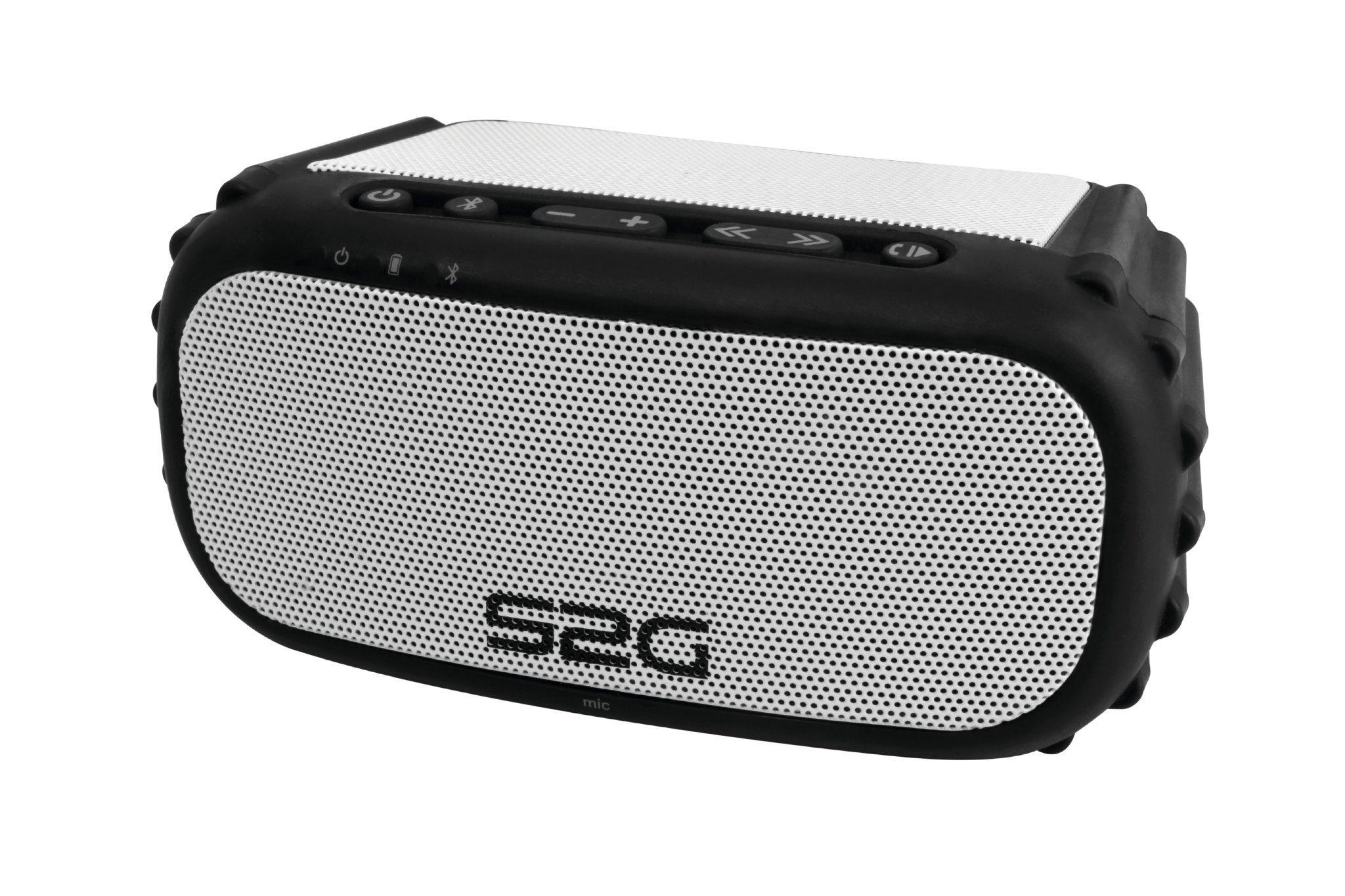 Sound2Go SOUNDBLOQ Stereo-Bluetooth-Lautsprecher für den Outdoor-Einsatz