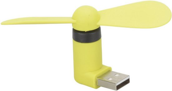 """Herbert Richter Mini Ventilator »""""Mini Fan"""" mit USB-A Stecker«"""