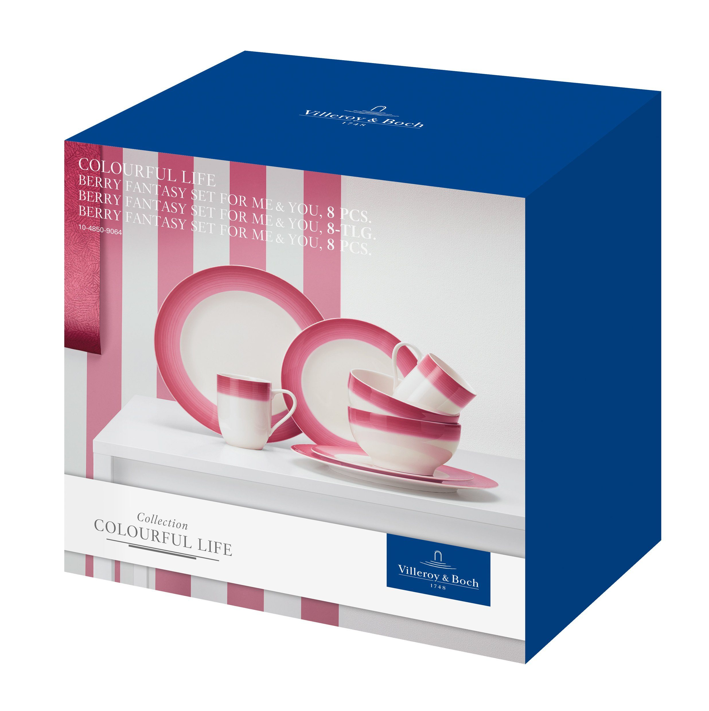 Villeroy & Boch Set For Me & You »Colourful Life Berry Fantasy«