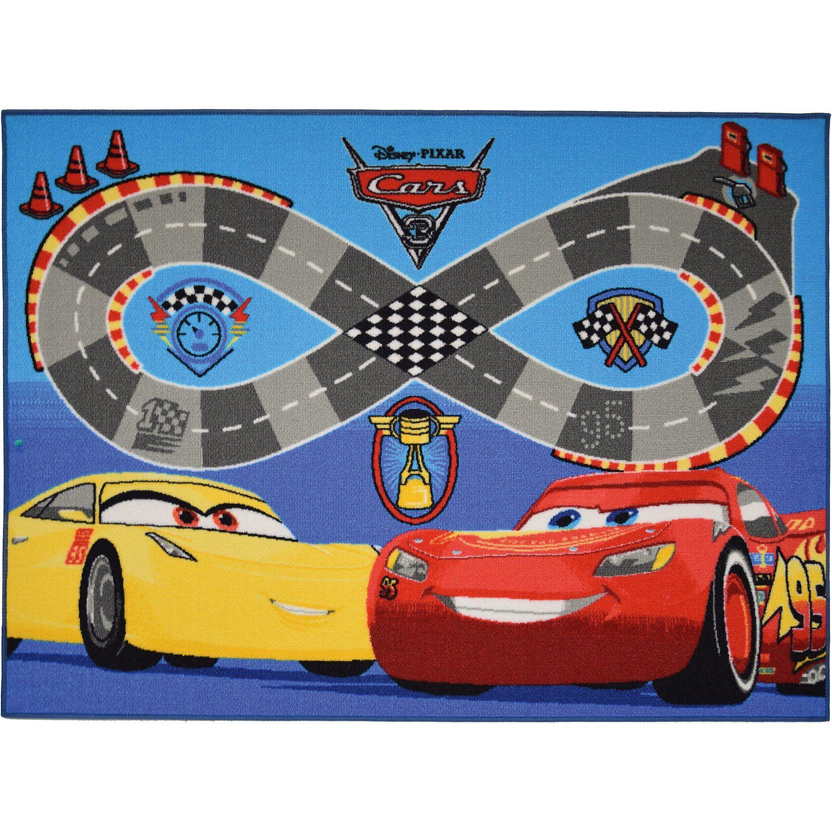 Kinderteppich Cars, Speedway, 95 x 133
