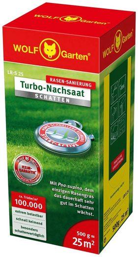 WOLF-Garten Rasensamen »LR-S 25 Turbo-Nachsaat SCHATTEN«, 0,5 kg