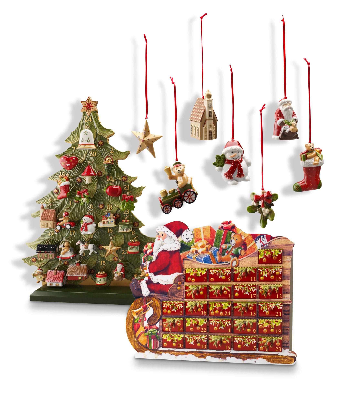 Villeroy & Boch Ornamente Zug, Set 3-teilig »Nostalgic Ornaments«
