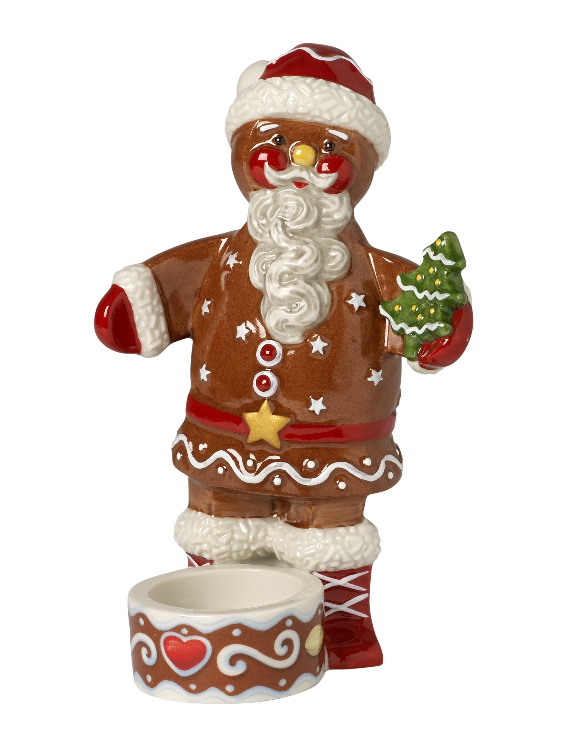 Villeroy & Boch Teelichthalter Santa »Winter Bakery Decoration«