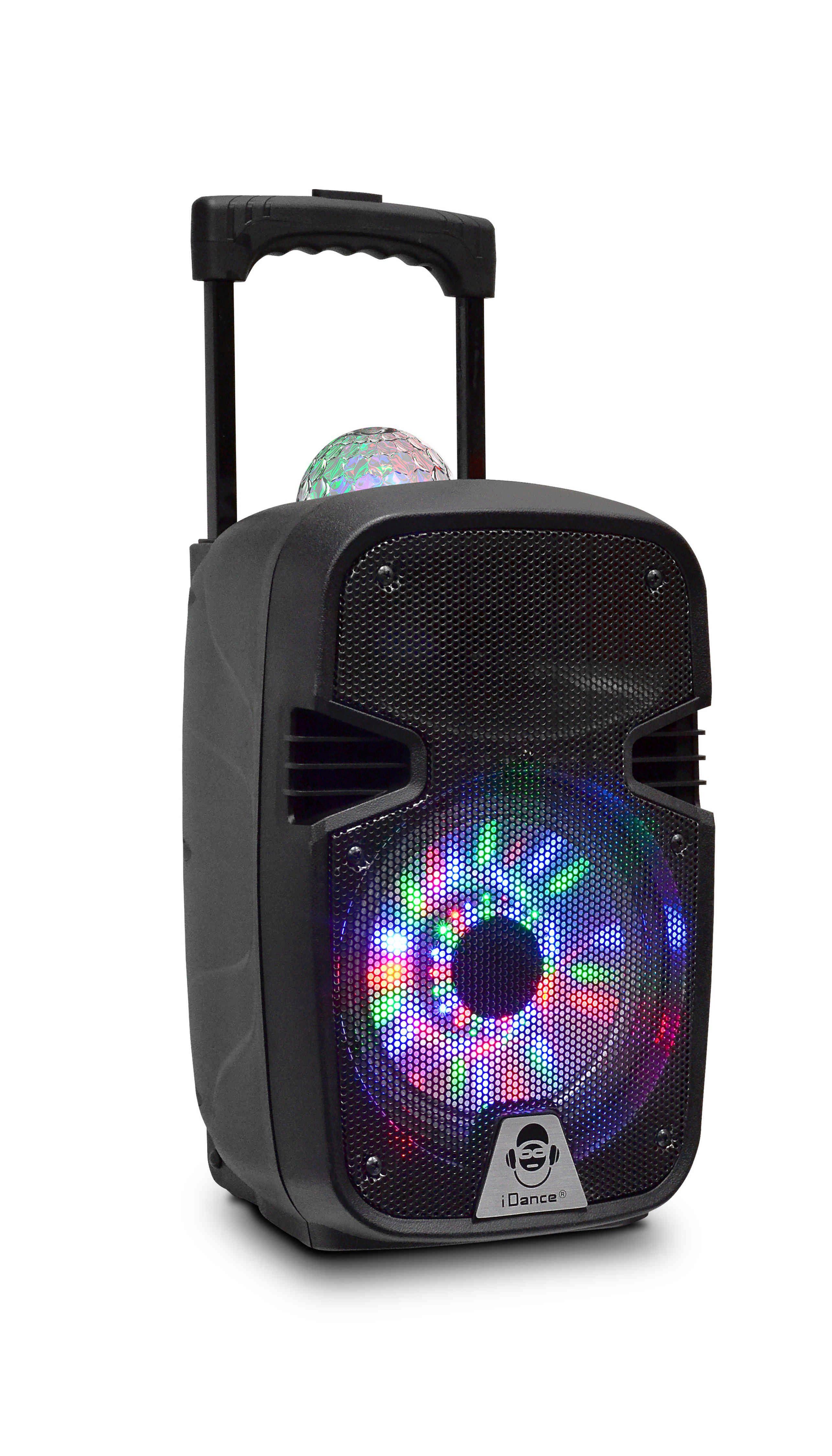 iDance Bluetooth Party-Lautsprecher mit USB & kabellosem Mikrofon »Groove 215«