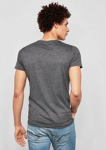 Q/S designed by Jerseyshirt mit Print
