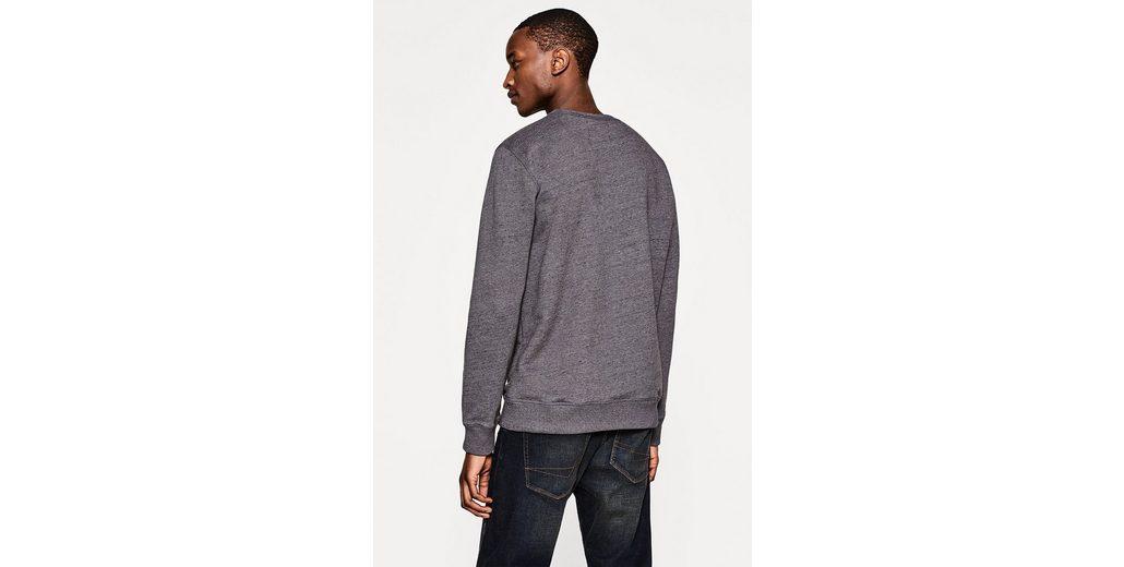 ESPRIT Sweatshirt mit feiner Melierung Billig 2018 Kaufen Billige Angebote Aus Deutschland Niedrig Versandkosten  Verkaufsschlager Bestseller wYrH3QM