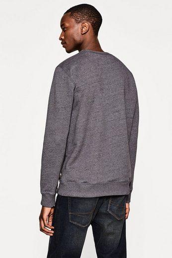 ESPRIT Sweatshirt mit feiner Melierung