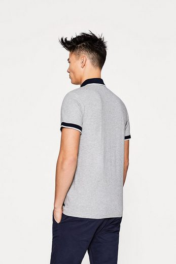 Edc By Esprit Poloshirt Aus Softem Jersey