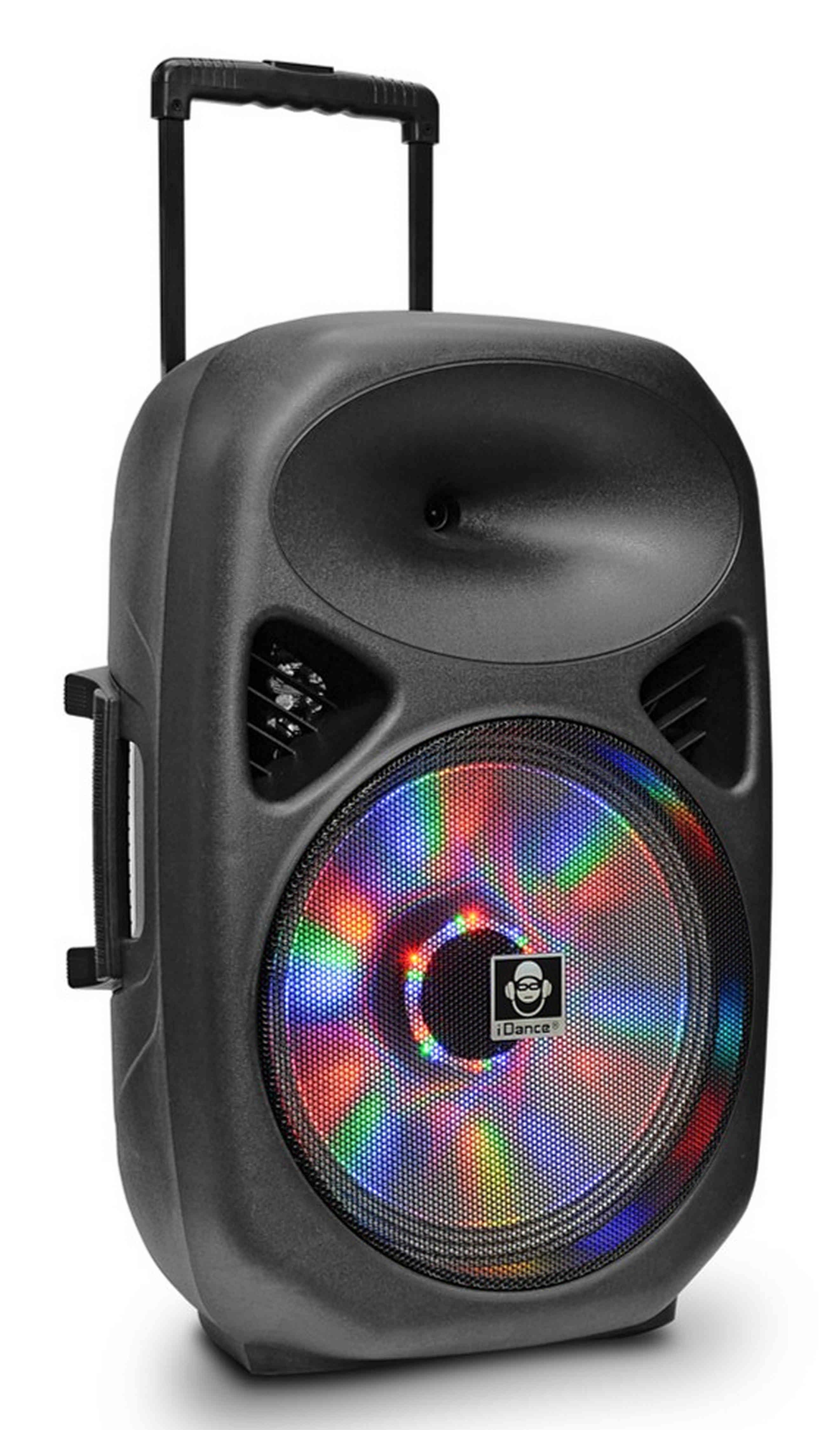 iDance Mobiler Bluetooth Party-Lautsprecher mit 2 kabellosen Mikrofonen »Groove 540«