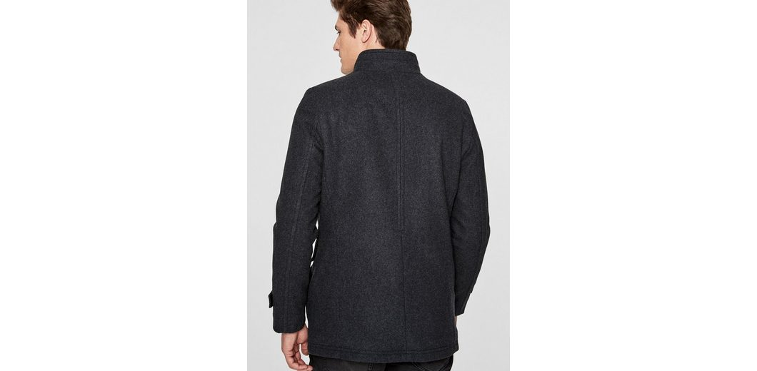 Aus Deutschland Freies Verschiffen Des Niedrigen Preises s.Oliver BLACK LABEL Slim Fit: Elegante Wolljacke Rabatt Limitierte Auflage 9RGyP