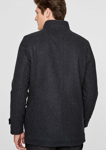 s.Oliver BLACK LABEL Slim Fit: Elegante Wolljacke