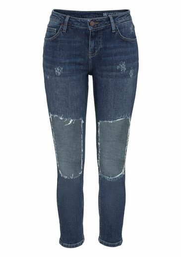 Funky Buddha Skinny-fit-Jeans, mit angesagten Cut-Outs