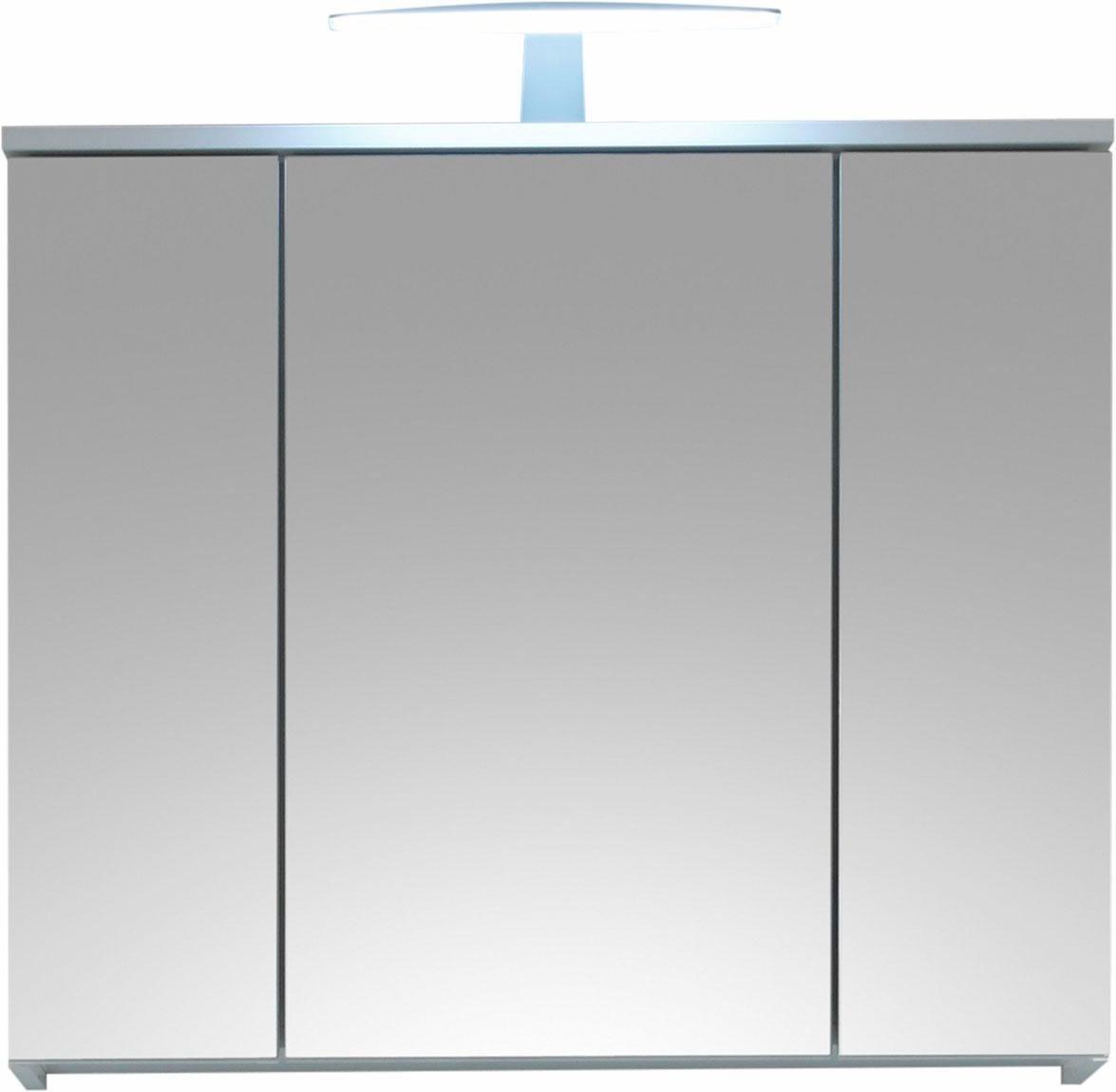 welltime  Spiegelschrank Spice mit LED Beleuchtung weiß | 04038889035239