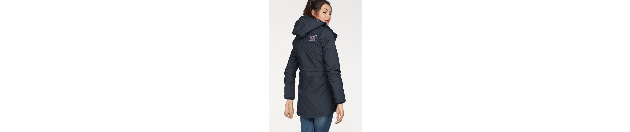 Superdry Outdoorjacke TECNICAL QUILTED WIND PARKA, in gesteppter Optik