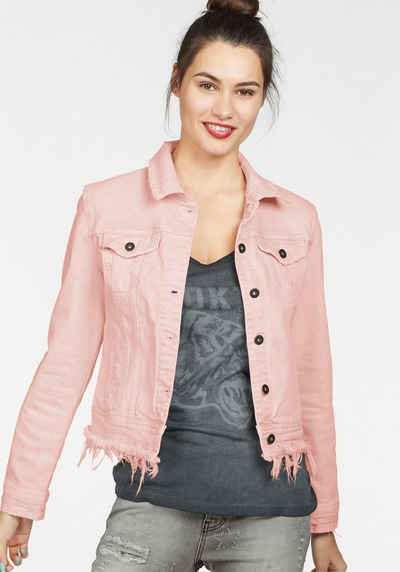 Jeansjacke dark denim damen