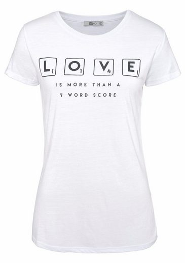 LTB T-Shirt LILOZA, mit Front-Print