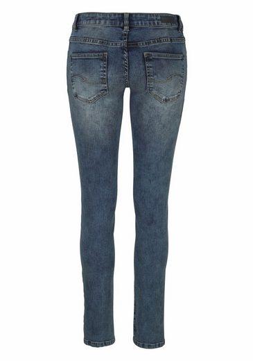 Q Mit fit Skinny By jeans Blumenstickerei Designed s rqaZYr