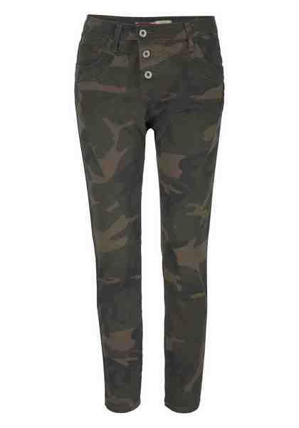 Please Jeans Boyfriend-Hose »P97U«, mit Galon-Streifen