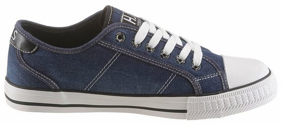 H.I.S Sneaker, mit seitlicher Logoapplikation
