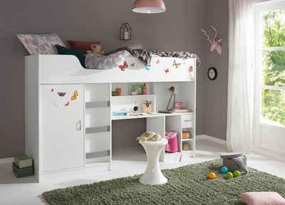 Kinder Etagenbett Mit Treppe : Hochbett online kaufen » mit treppe otto