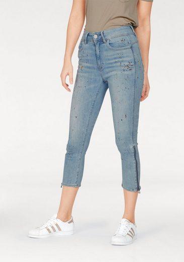 G-Star RAW 7/8-Jeans Lynn, mit Farbspritzern