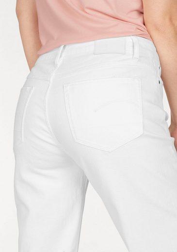 G-Star RAW Boyfriend-Jeans 3301, mit Fransen am Saumabschluss