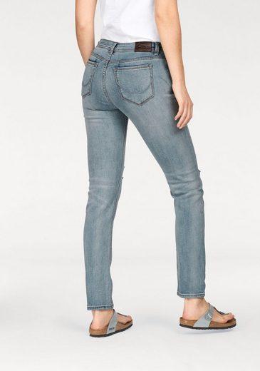 Superdry Slim-fit-Jeans IMOGEN SLIM JEANS, im Used-Look