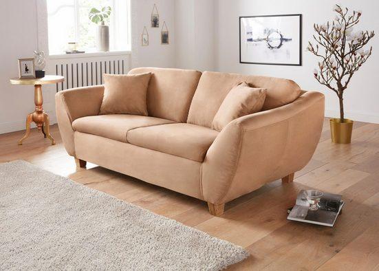 DOMO collection 2-Sitzer, wahlweise mit Federkern