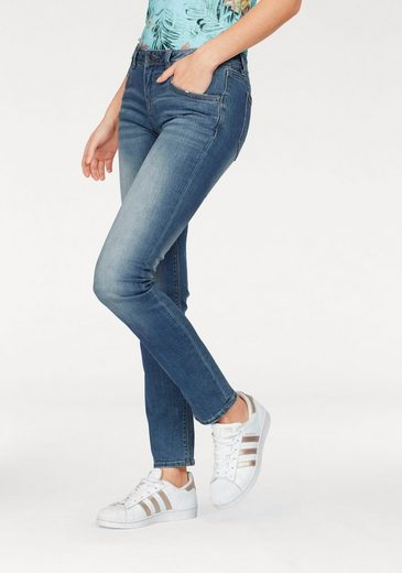 Superdry Slim-fit-Jeans IMOGEN SLIM JEANS, mit modischer Waschung