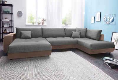 U Förmige Sofas wohnlandschaft kaufen sofa in u form otto