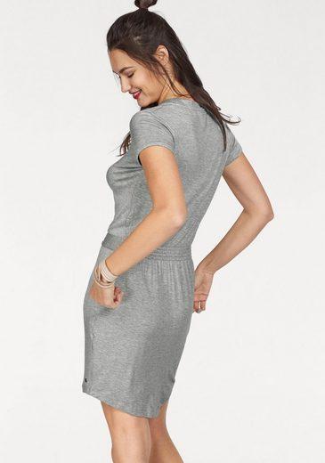 Bench Shirtkleid, mit gesmokter Taille