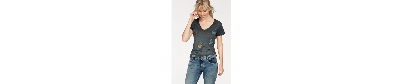 Coccara T mit TIDA Pailletten Shirt T Coccara Optik in Shirt TIDA Schwan qWwUgnCRC