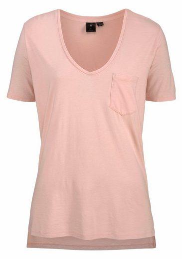 G-Star RAW V-Shirt RC Ovvela, mit tiefen V-Ausschnitt