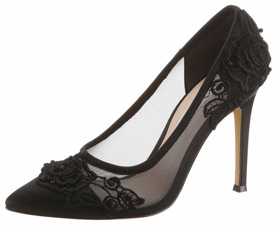 nina donela high heel pumps mit bl ten verziert otto. Black Bedroom Furniture Sets. Home Design Ideas