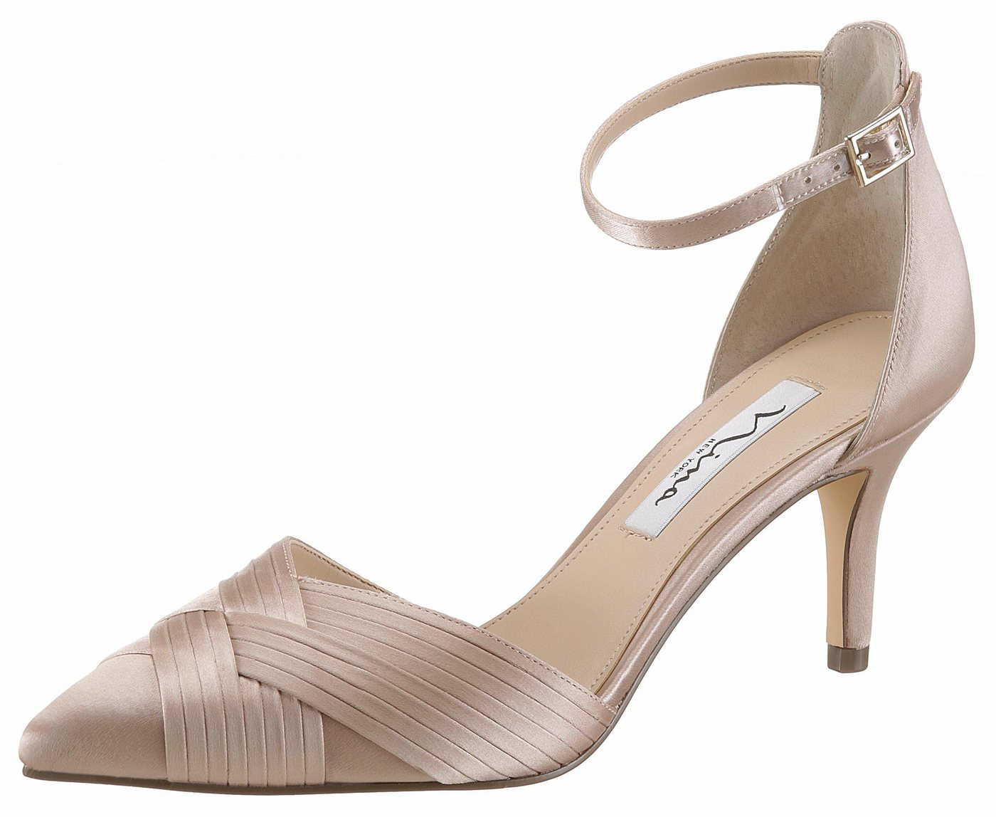 Nina »Teriann« Spangenpumps in spitzer Form | Schuhe > Pumps > Spangenpumps | Gelb | Nina